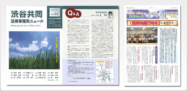 ニュースレター・事務所報 制作例の写真04